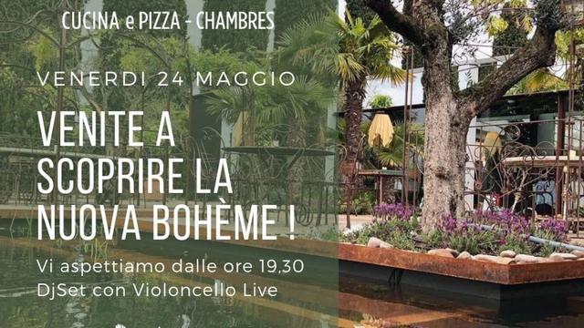 Venite a scoprire la nuova Bohème - DJSet con Violoncello Live